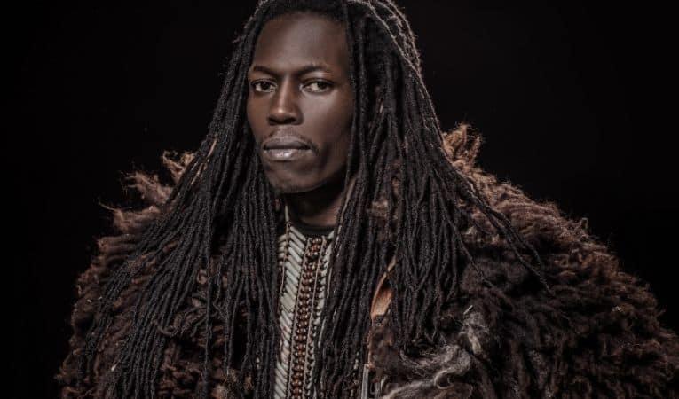 Black Viking warrior