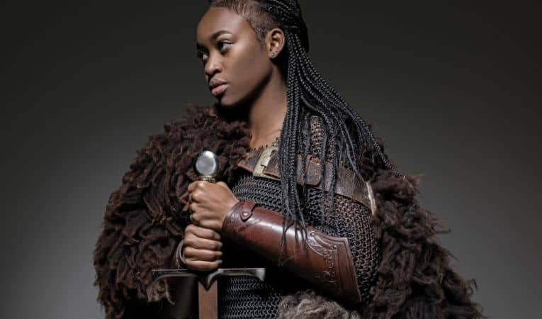 Vikings black woman