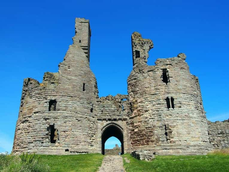 English castle Northumbria