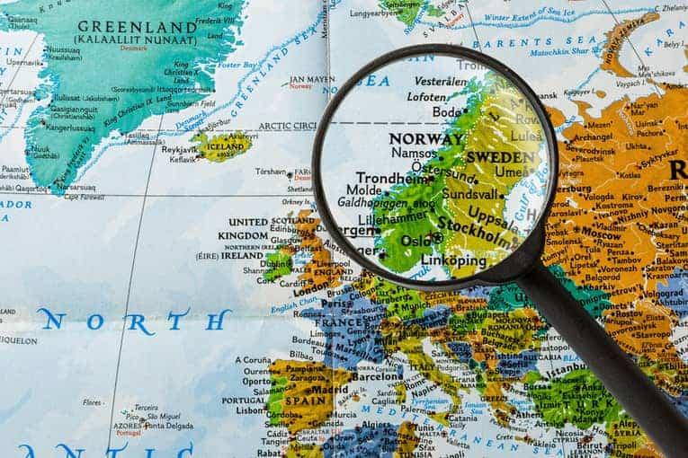 Norway Sweden Scandinavia