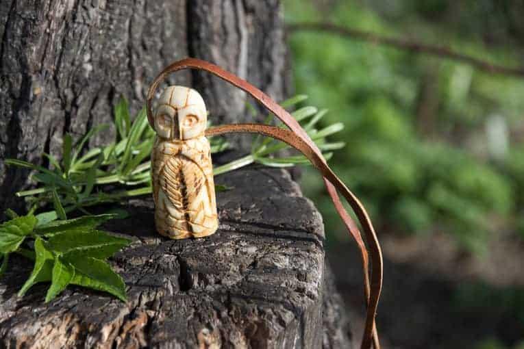 Odin god war figurine