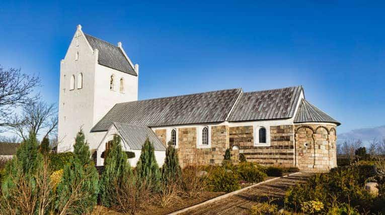 Medieval Danish church