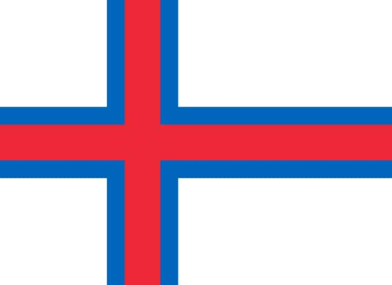 Faroe Islands national flag