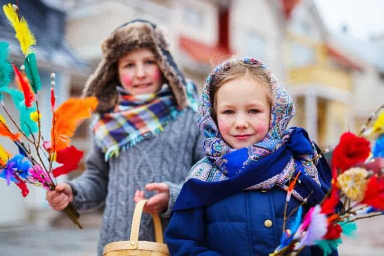 happy Finnish children