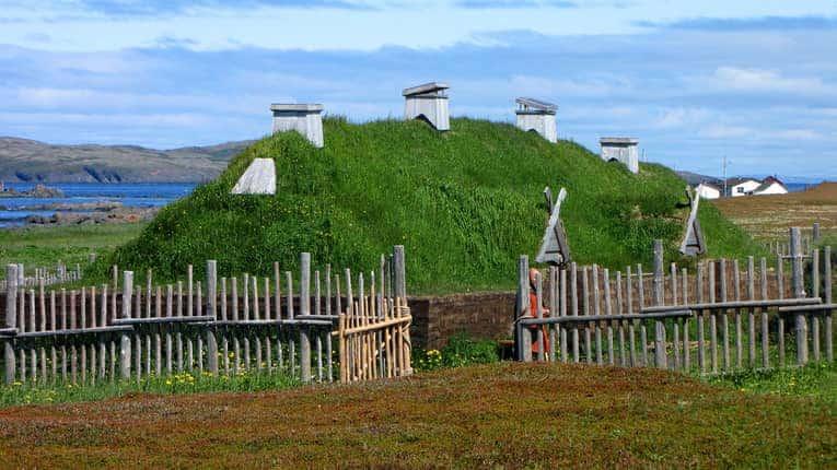 Viking village New Foundland