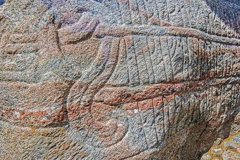 Viking runes Denmark
