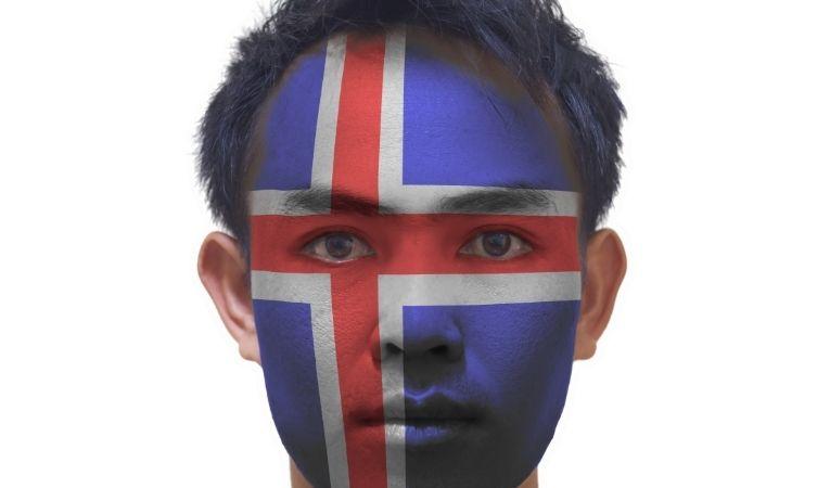 Icelandic man asian