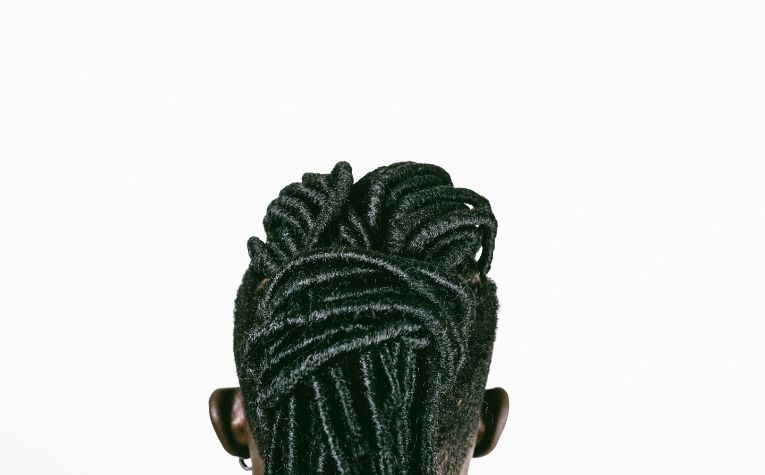 man wearing dreadlocks