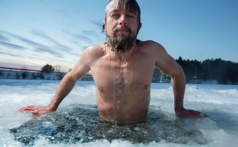Scandinavian ice bath