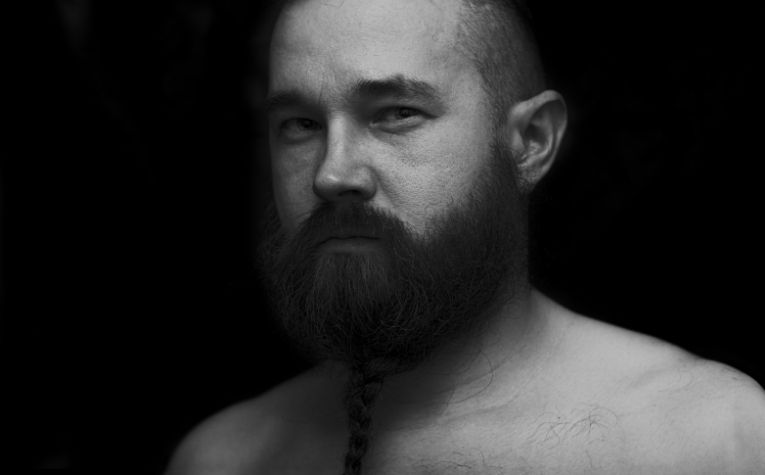 Viking beard braids