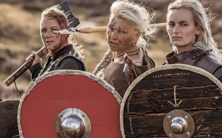 Viking women blonde hair
