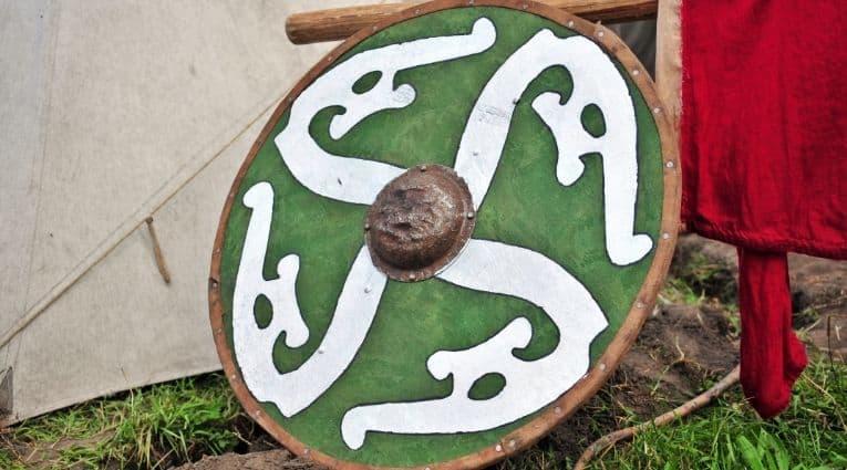 Viking circular shield