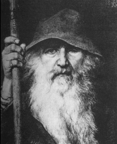 Odin god Norse Mythology