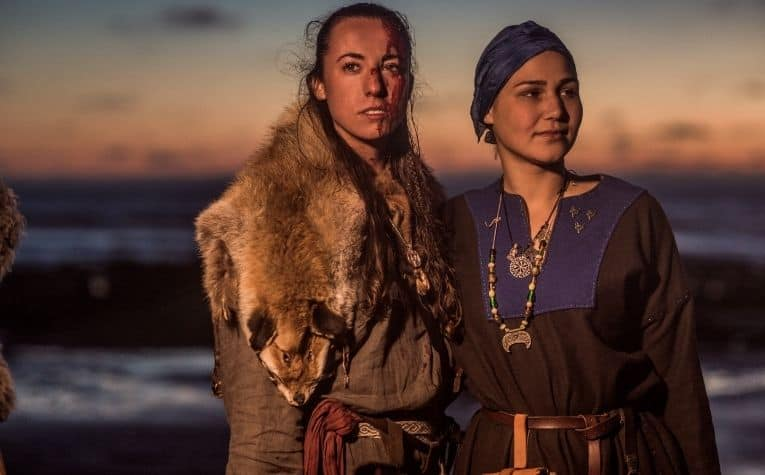 two viking women