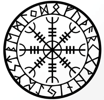 Viking symbol Helm of Awe