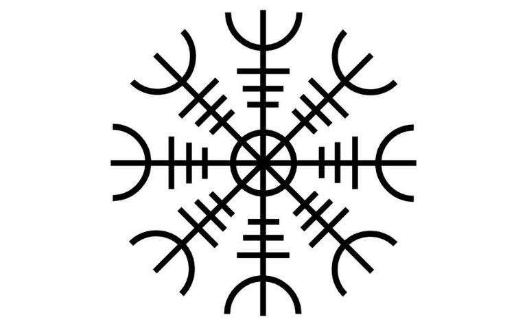 Viking symbol Helm of Awe