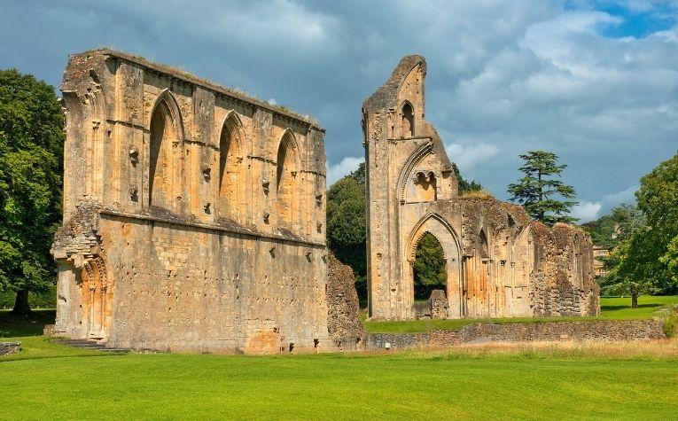 Monastery in Somerset, England