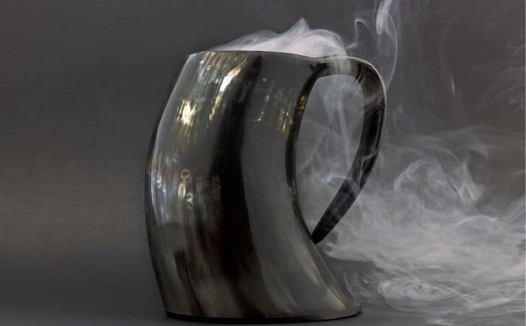 Viking drinking mug