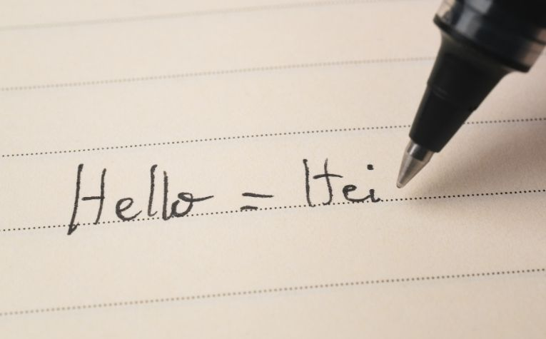 Norwegian word for hello