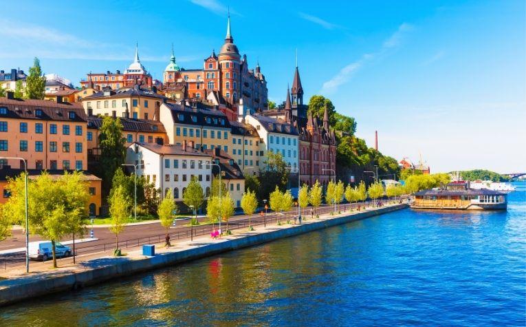 city of Stockholm Sweden