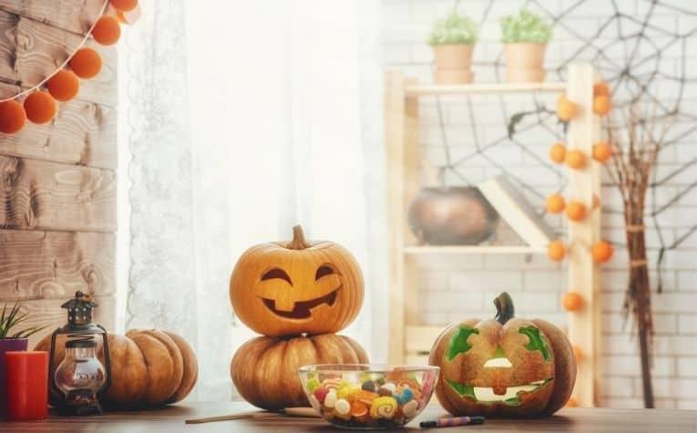 Halloween celebration in Sweden