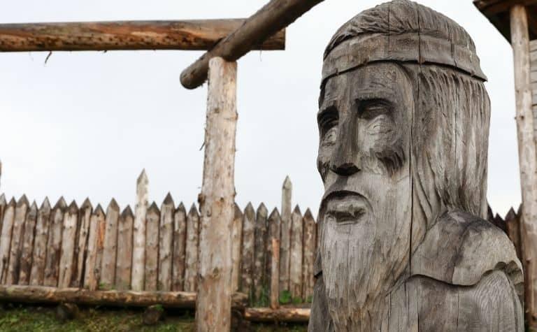 Odin live in Valhalla