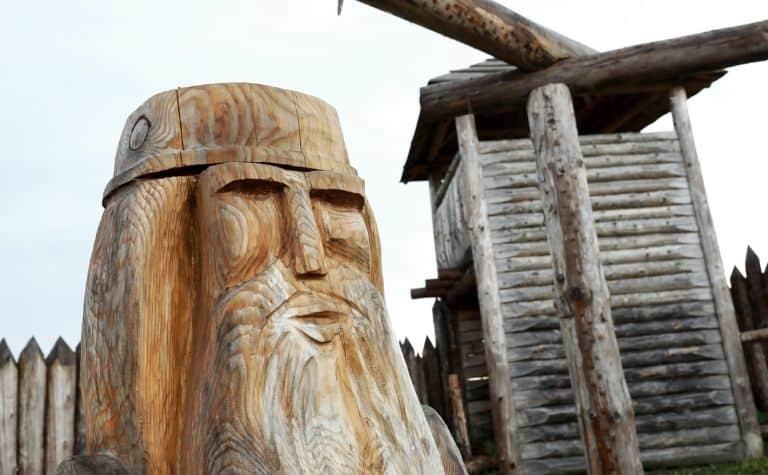 Odin lives in Valhalla