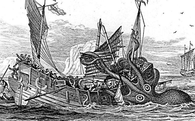 Kraken in Norse mythology