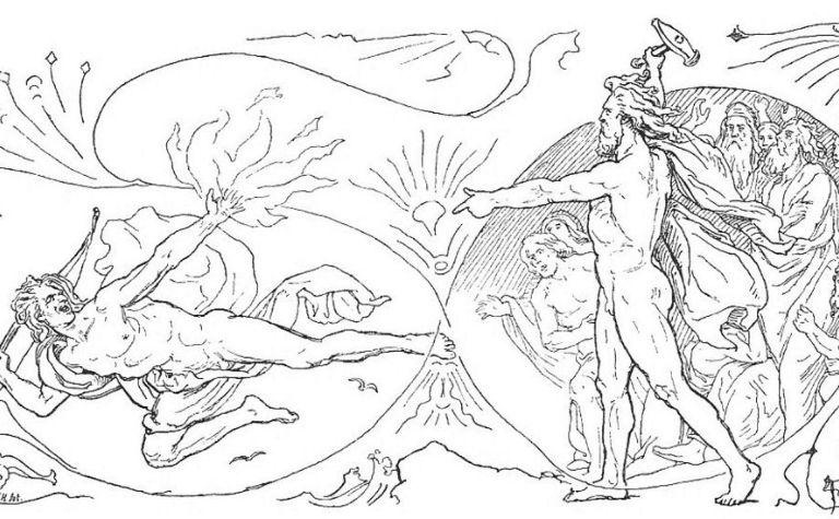 Thor fights Loki