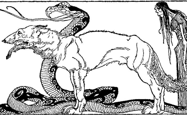 Loki's children in Norse mythology