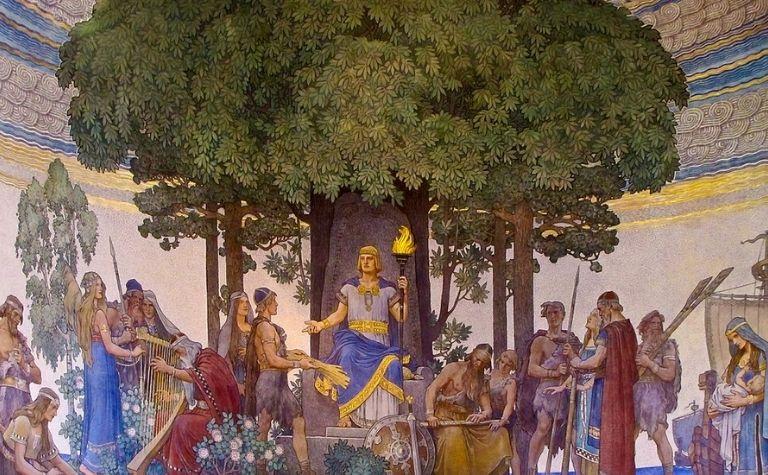 Heimdall Norse god
